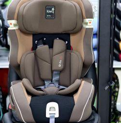 Araba koltuğu Kiwy SLF123 Q-Fix PLUS 9-36 kg'dan itibaren