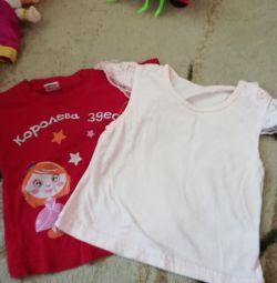 Παιδικά μπλουζάκια.