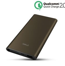 iWALK CHIC Quick Charge 2.0 Metal Powerbank 10000m
