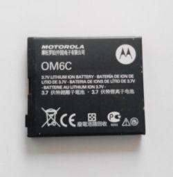 Battery MOTOROLA OM6C