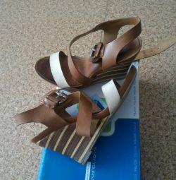 Vand sandale din piele autentica