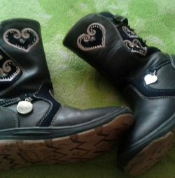 Boots size 30, winter.