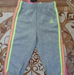 Детские спортивные штанишки adidas