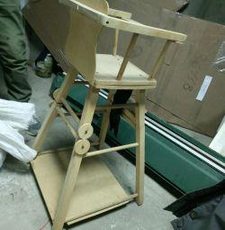 Chair-table for feeding