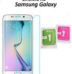Sticlă pe Samsung Galaxy