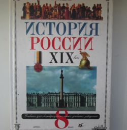 Textbook on the history of Russia, Grade 8, Lyashenko L.M.