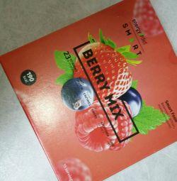 коктейли Energy Diet Smart ягодный микс