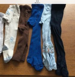 A variety of tights from birth and older