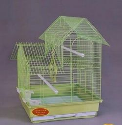 Bird Cage Medium Triangular 35 * 28 * 43cm