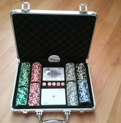 Set for playing poker