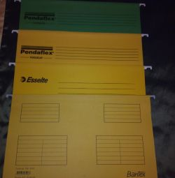 Новые папки Esselte Pendaflex Plus Foolscap