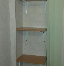 Shelves 3 pcs. with fasteners