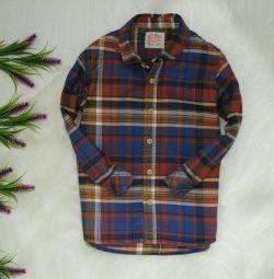 Süper kalın gömlek f. 2-3 yıl sonraki