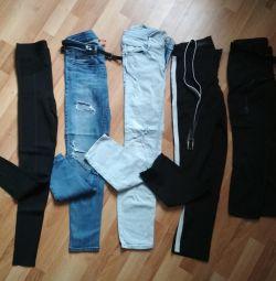 Συσκευασία: τζιν, γκέτες και παντελόνια