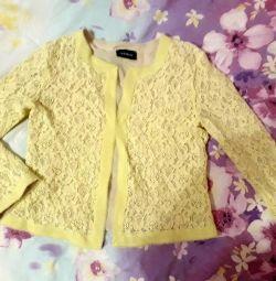 Пиджак шикарный детский.для девочки 146 рост.
