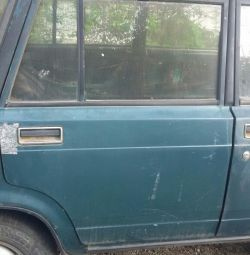 Rear door pravach / left used VAZ 2104