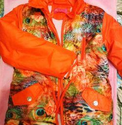 Jacket κρύο άνοιξη-φθινόπωρο, 128-134