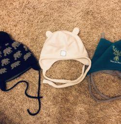 шапки зимові