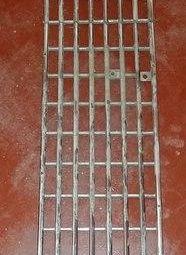 chrome grille for car radiator