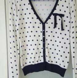 Υπέροχο ζακέτα πουλόβερ μπλούζα σαγιονάρου