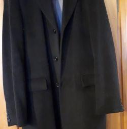 The coat is men's cashmere.