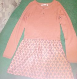 Dress knitted r. 152
