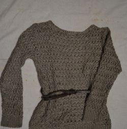 MANGO jumper with metallized thread