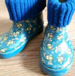 Μπότες, παντόφλες