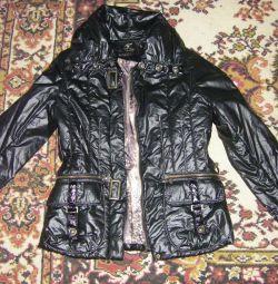 Куртка темная водоотталкивающая