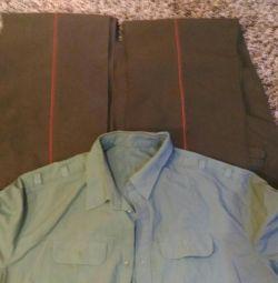 Στρατιωτική στολή: 2ο παντελόνι και πουκάμισο