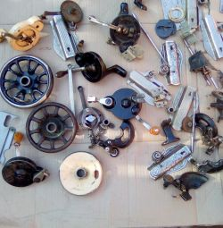 Spare parts are many