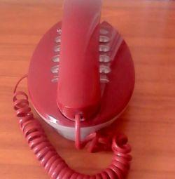 Tasta telefonică fixă pe telefon