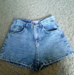 Pantaloni scurți din denim