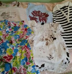 Clothes package for a girl 10-12 years old