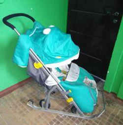 Sledge Wheelchair