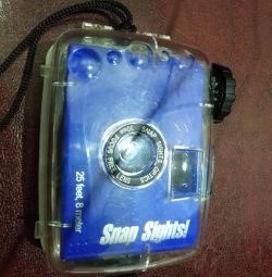 Camera in a case for underwater shooting NEW