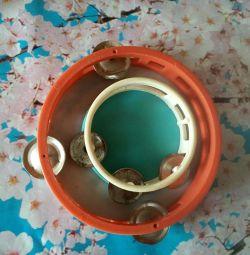 Tambourine for children