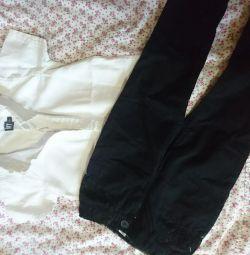 Cămașă și pantaloni
