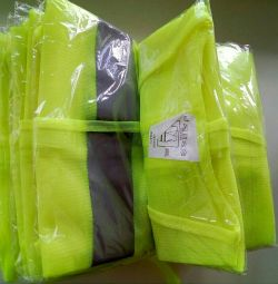 Vest of increased light output
