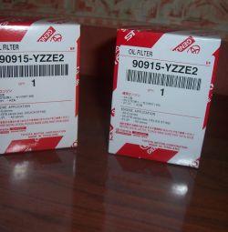 φίλτρο λαδιού για Toyota 90915-YZZE2