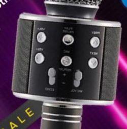 Μικρόφωνο-στήλη-flash player 3 σε 1
