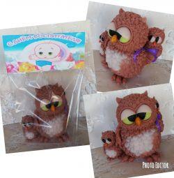 Sapun Owl cu copii