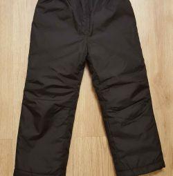 зимнии брюки 110