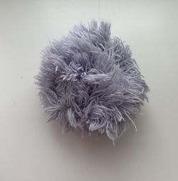 Pompom for a hat.