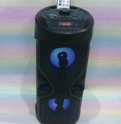 Akustik bluetooth, FM, MP3