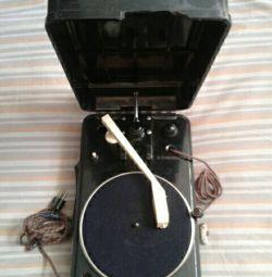 Prefixul gramofonului GP-55 1955.