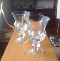 Wineglasses for wine Czech Republic