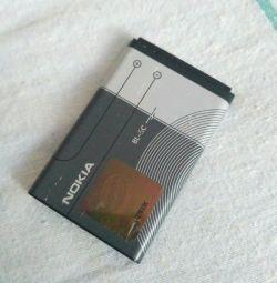 Batarya nokia BL-5C orijinali kullanıldı