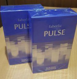 Erkekler için Eau de toilette faberlic PULSE
