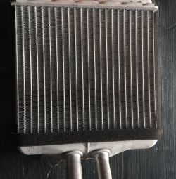 Heater radiator on Lanos